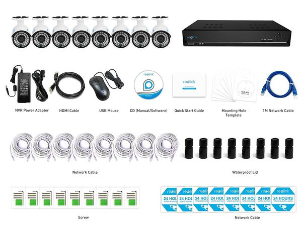 Reolink PoE IP Security Camera System
